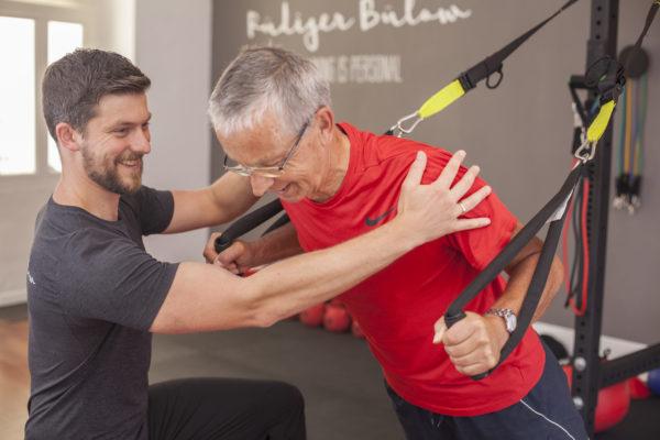 Rüdiger Bülow- der Personal Trainer und OTT Therapeut im Forum Wolfgarten